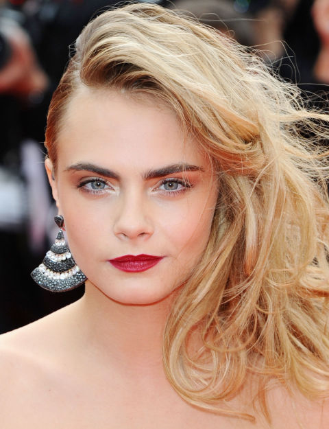 blonde celebrities with long faces celebrity eyebrows