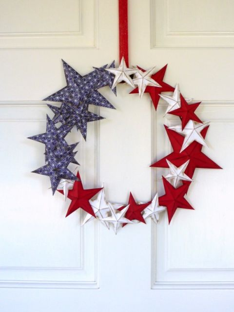 Easy 4th of July CraftsDIY Patriotic Wreaths For Every Style