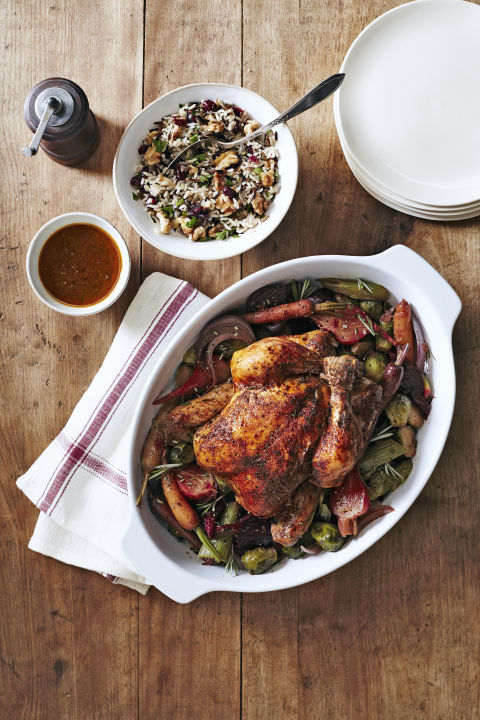 Set it and forget it — let your bird cook while you unwrap presents and do last-minute cleaning (while drinking a glass of wine). 