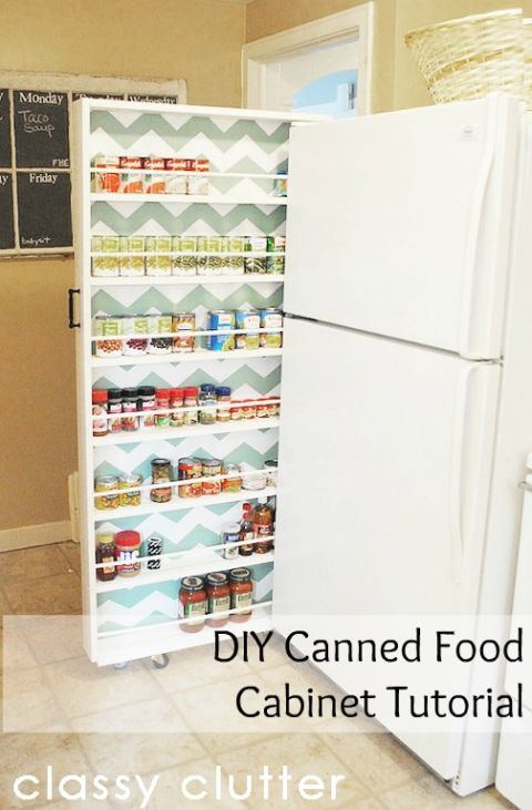 Small Kitchen Storage kitchen organization ideas - kitchen organizing tips and tricks