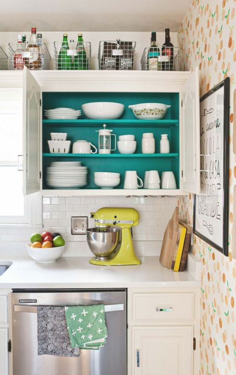 utilize baskets - Storage Ideas For A Small Kitchen