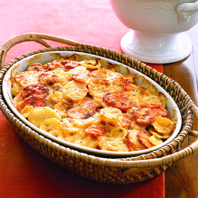 Root Vegetable Gratin Recipe — Dishmaps