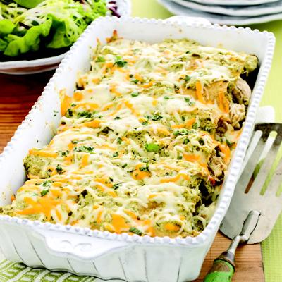 recipe: salsa verde chicken casserole [25]