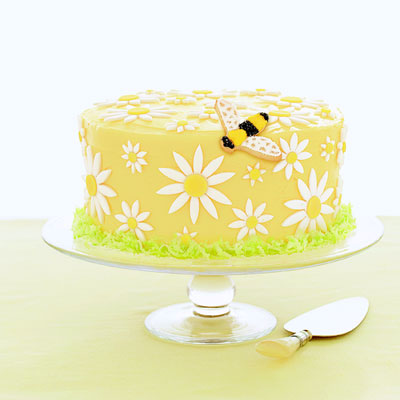 Cake Decor Daisy : Daisy Cake - Cake Recipe