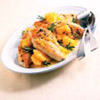 Orange-Rosemary Chicken