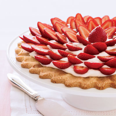 Fresh Strawberry-Cream Cheese Tart - Cream Cheese Recipes