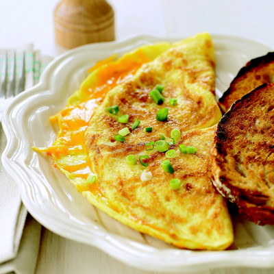 Classic Cheese Omelet - Brunch Recipes