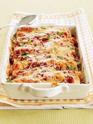 Turkey Enchiladas - Healthy Recipes