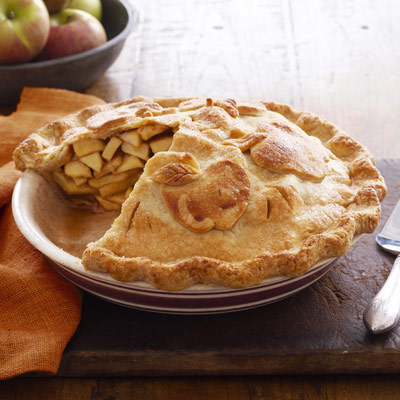 Double-Crust Apple Pie - Thanksgiving Recipes - Dessert Recipes