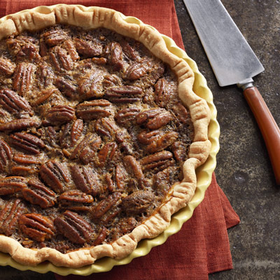 Old-Fashioned Pecan Pie - Thanksgiving Recipes - Desserts