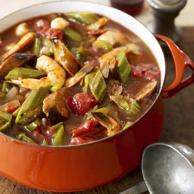 chicken sausage and shrimp gumbo recipe