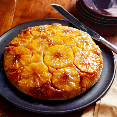 Easy Orange Upside Down Cake Recipe