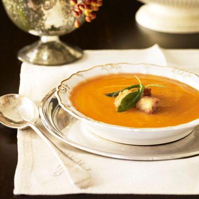 Butternut Squash Soup Ina Garten butternut squash and apple soup recipe