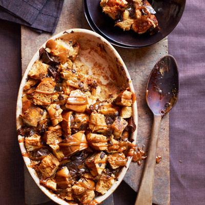 Dulce De Leche And Chocolate Chunk Bread Pudding Recipe ...