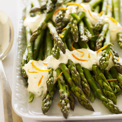 Asparagus with Citrus Sauce