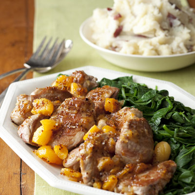 Recipes for apricots and pork
