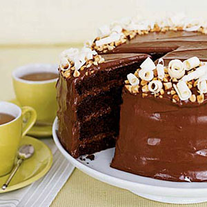 Chocolate hazelnut gateau cake recipe