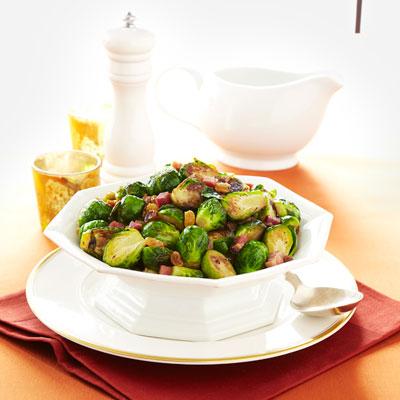 brussels sprouts lardons recipe