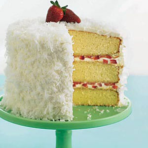 Coconut Layer Cake With Cream Cheese Frosting Good Housekeeping