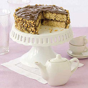 Chocolate Chiffon Layer Cake With Chocolate Whipped Cream Good Housekeeping