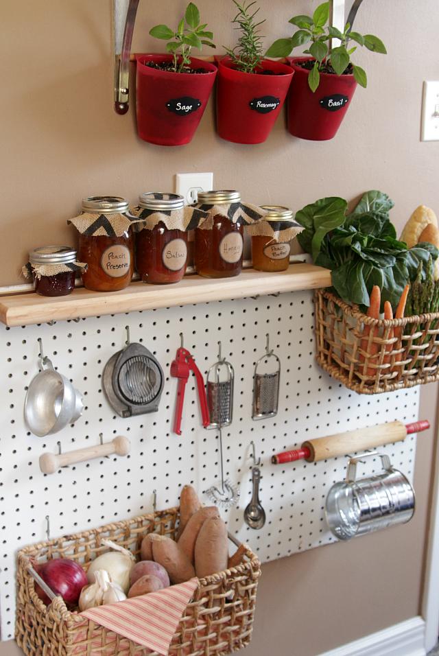 pegboard organizing ideas creative ways to use pegboards - Kitchen Pegboard Ideas
