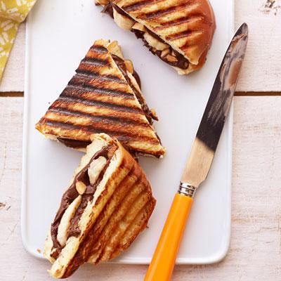 Nutella and Banana on Challah Recipe