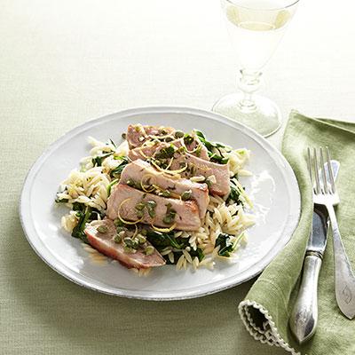 pork chops piccata