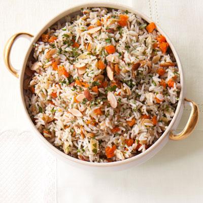 rice pilaf 20130823 174506 cranberry almond rice pilaf brown rice ...