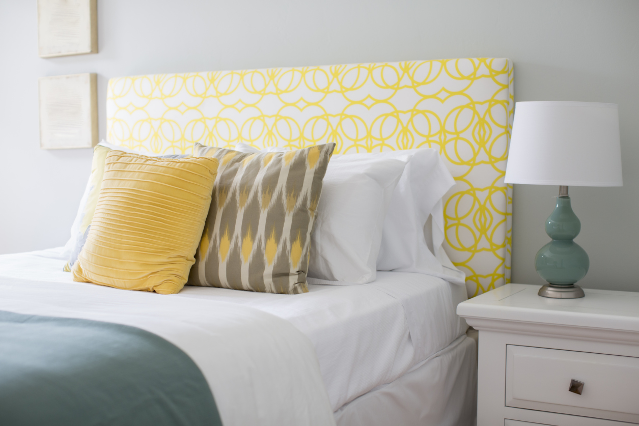 Headboard Decorating Ideas Part - 39: Good Housekeeping