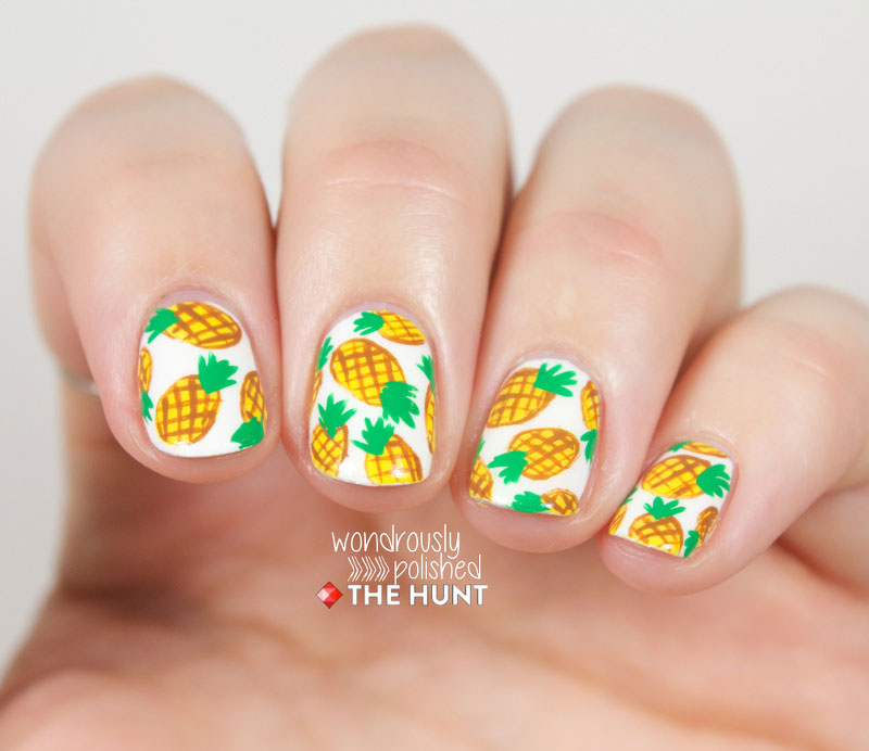 Nail art inspiration manicure design ideas pineapple punch prinsesfo Images