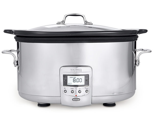 All Clad 6 5 Quart Electric Slow Cooker With Ceramic
