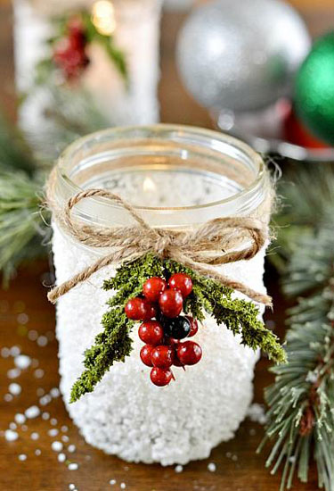 Mason Jar Christmas Crafts - Christmas Crafts and Ideas
