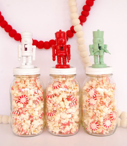 How To Decorate A Jar For Christmas Gift Classy Mason Jar Christmas Crafts  Christmas Crafts And Ideas Inspiration Design