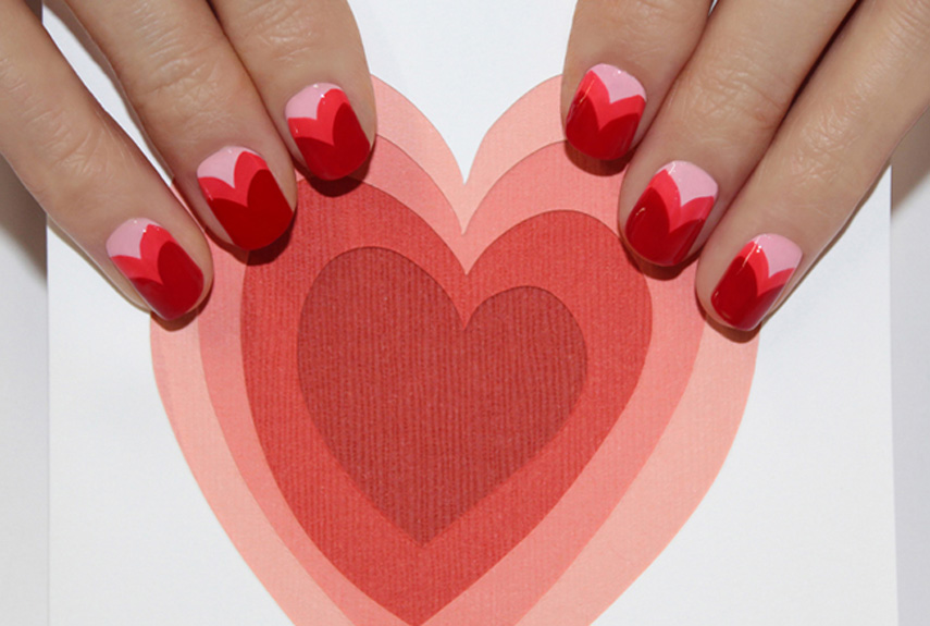 - 25 Valentine's Day Nails - 25 Valentine's Day Nail Art Ideas