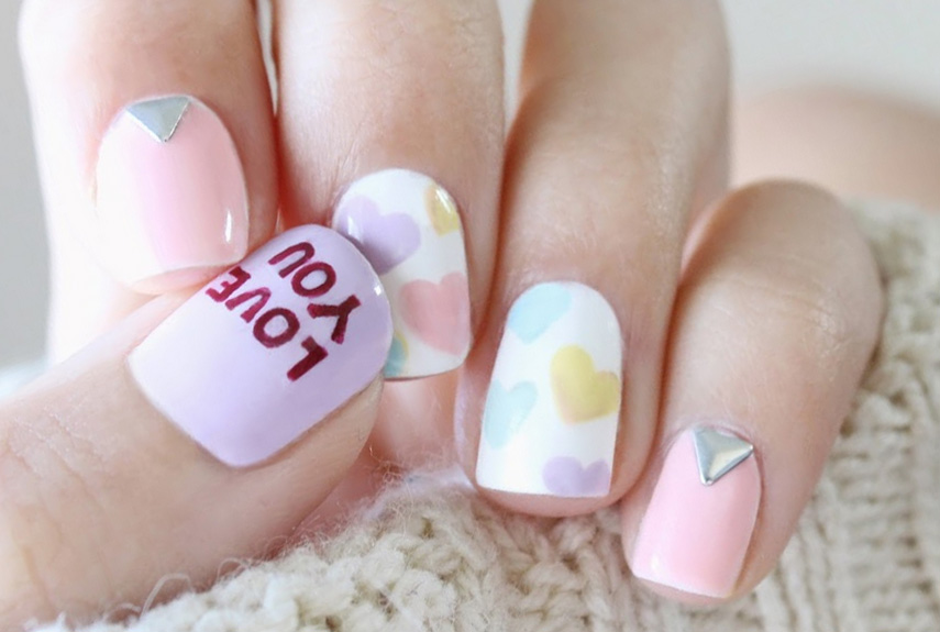 25 Best Valentineu0027s Day Nails   Hot Nail Art Design Ideas For Valentines Day