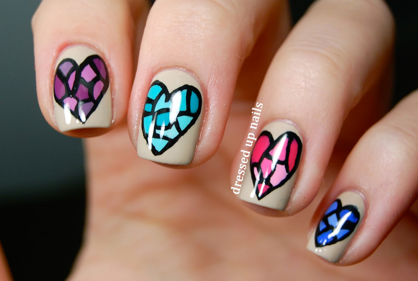 25 Best Valentine's Day Nails - Hot Nail Art Design Ideas for Valentines Day - 25 Best Valentine's Day Nails - Hot Nail Art Design Ideas For