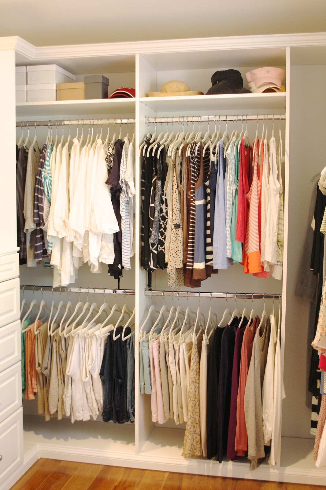 How To Organize Closet Organized And Pretty Closets  How To Organize Your Clothes