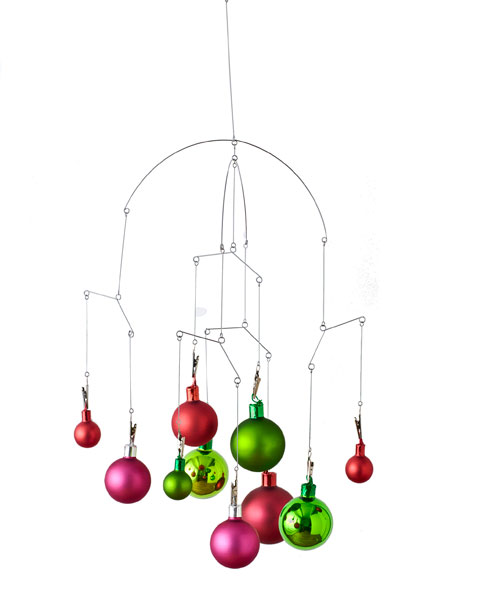 Christmas Ornament Craft Ideas - Chandelier Christmas Ornaments