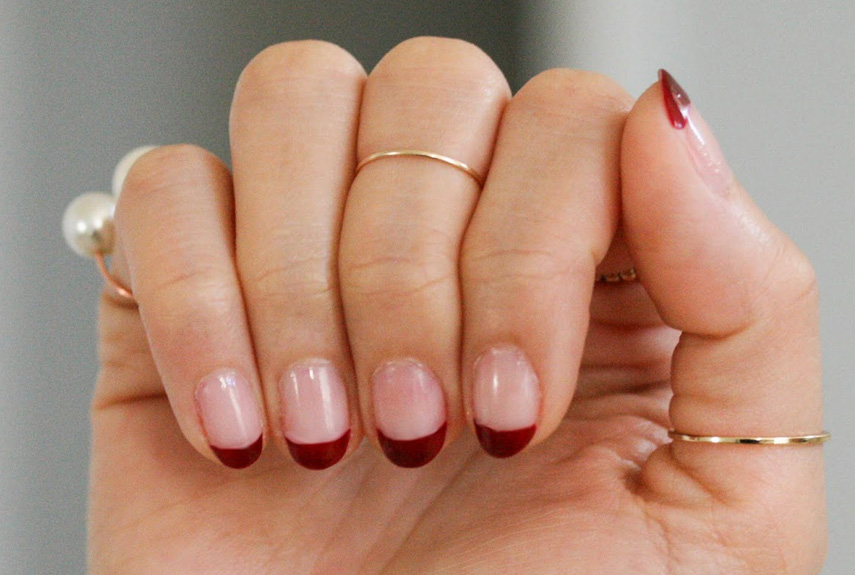 Gold Jewelry Manicures
