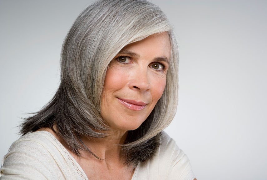 Gallery For > Natural Gray Hair