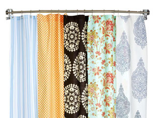 these fun shower curtains are sure to make any bathroom a splashing success
