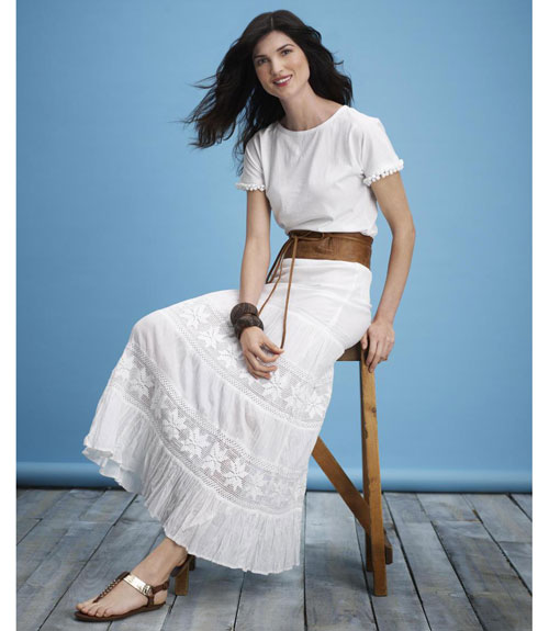 white dresses for women - 7 | Fashion and Hairstyles