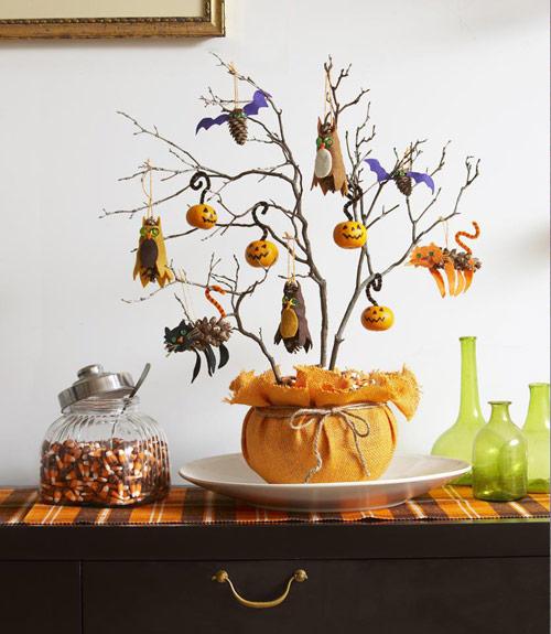 Natural Halloween Decorations: Fall Decorating Craft Ideas