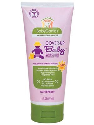 Baby sunscreen organic