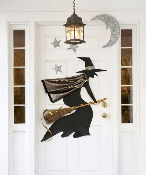 Fit Crafty Stylish And Happy Guest Bathroom Makeover: 14 DIY Homemade Halloween Decorations With Glitter