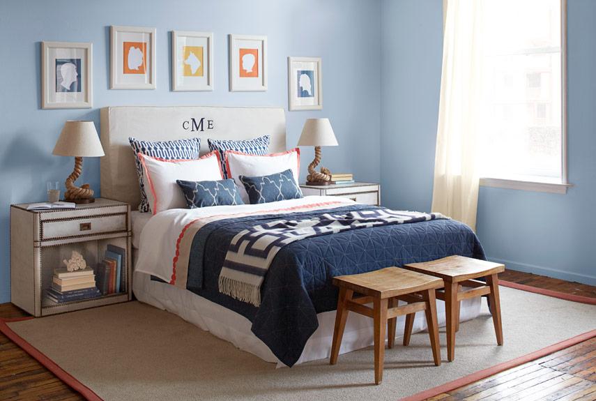 preppy bedroom. bedroom nautical style Bedroom Styles  Decorating Looks