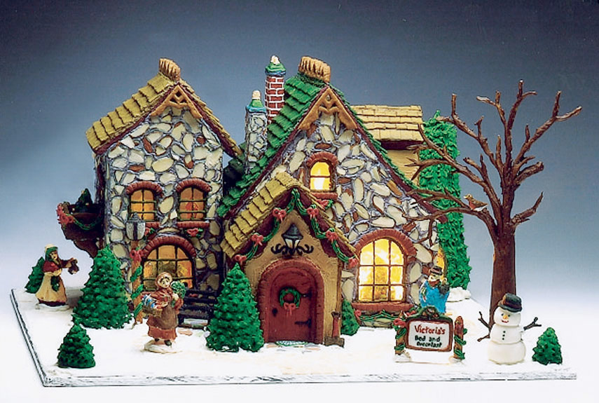 Unique gingerbread house theme ideas