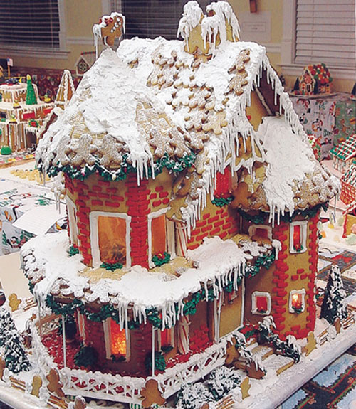 Gingerbread house decorating tips and ideas