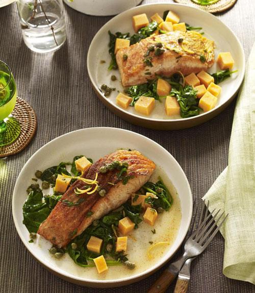 Easy healthy quick salmon recipe