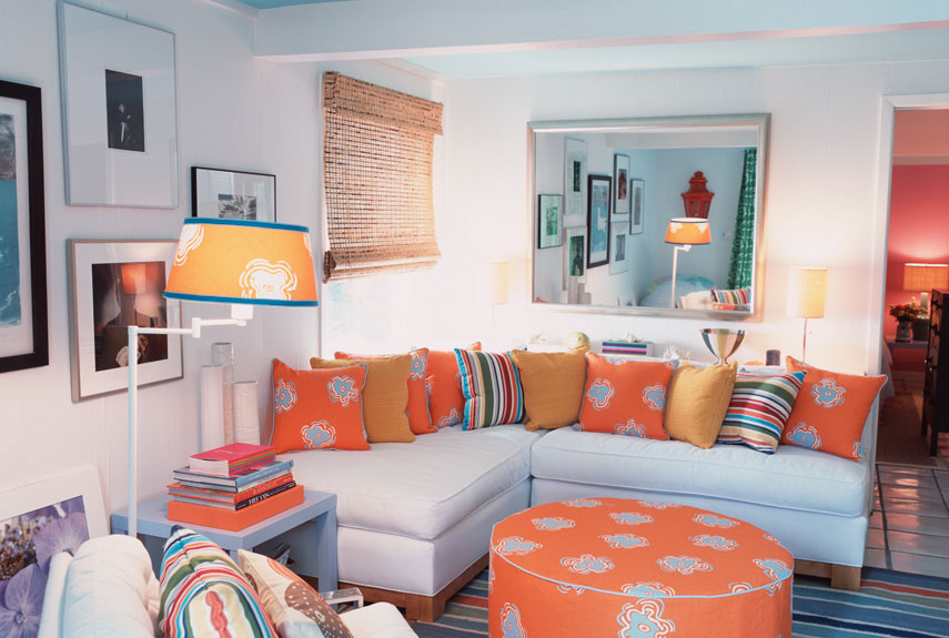 . Patterned Rooms   Decorating with Patterns
